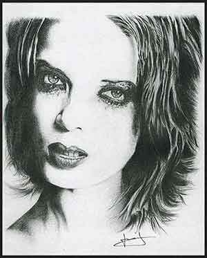 Shirley Manson par portraitemoi